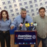 Photo taken at Partido Accion Nacional by Juan Francisco A. on 1/30/2013