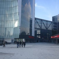 Photo taken at Vodafone Village by Mattia on 3/11/2013