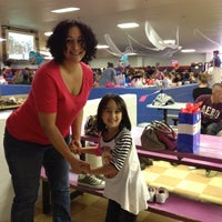 Photo taken at Rainbow Roller Rink by Sandra M. on 9/29/2012
