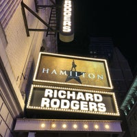 Photo taken at Hamilton: An American Musical by Nick C. on 7/20/2018