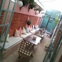 Photo taken at Brigadeiro Doceria & Café by Rafael G. on 11/16/2012