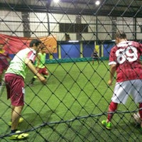 Photo taken at Champion Futsal Arena by Sonny on 5/23/2014