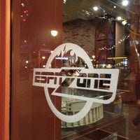 Photo taken at ESPN Zone by Angie on 11/22/2012