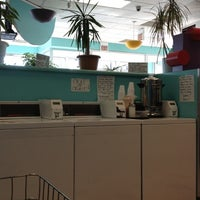 Photo taken at Bubbleland Laundromat by Andrea on 12/13/2012