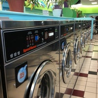 Photo taken at Bubbleland Laundromat by Andrea on 12/31/2012
