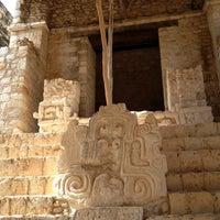 Foto tomada en Zona Arqueológica Ek Balam por Adri el 5/2/2013