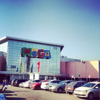 Photo taken at MEGA Mall by Лучик С. on 5/4/2013