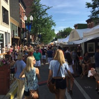 Photo taken at Old Town Art Fair by Kindall H. on 6/11/2016