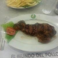Photo taken at El Mundo Del Pollo by Rafael F. on 10/9/2012