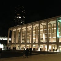 Photo taken at David Geffen Hall by hashiruyaseru on 11/3/2012