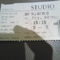 Photo taken at Studio XXI by Rhizky r. on 11/2/2012