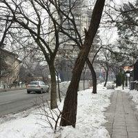 Photo taken at бул. Св. Наум by Jana T. on 1/8/2015