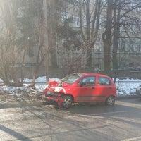 Photo taken at бул. Св. Наум by Jana T. on 1/13/2015