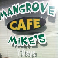 Photo taken at Mangrove Mike's Cafe by Christopher M. on 12/26/2012