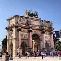 Foto tirada no(a) Arco do Triunfo do Carrossel por Priximmo em 7/27/2013