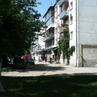 "Photo taken at Зупинка ""Магазин Текстильник"" by IgorA V. on 5/20/2013"