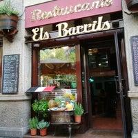 Photo taken at Restaurant Els Barrils by Anastasia CayoLargo on 8/15/2015