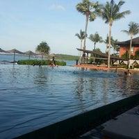 Photo taken at Hansar Samui Resort & Spa by Sarah K. on 9/4/2013