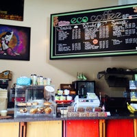 Photo taken at Eco Coffee House by Tony C. on 5/22/2014