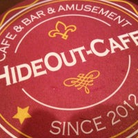 Photo taken at HIDE OUT CAFE by Tatuya O. on 10/15/2012