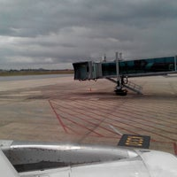 Photo taken at Aerobridge Gate 3A by Elton J. on 2/8/2015