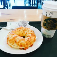 Photo taken at Starbucks by Hyemin K. on 1/22/2016