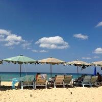 Photo taken at Karon Beach by Gala la la on 1/18/2013
