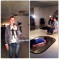 Photo taken at PhotoStudio AVENUE by Рим on 10/15/2014