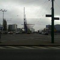 Photo taken at Przystanek Most Dworcowy by Marcin L. on 10/17/2013