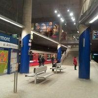 Photo taken at Metro Marymont by Marcin L. on 1/15/2013