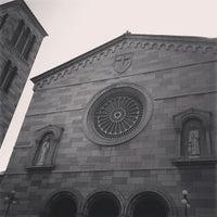 Photo taken at Iglesia Nuestra Señora De La Chiquinquira by Joseph S. on 4/14/2013