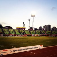 Photo taken at Estadio Olímpico Universitario by Joseph S. on 2/14/2013
