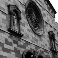 Photo taken at Iglesia Nuestra Señora De La Chiquinquira by Joseph S. on 12/8/2013