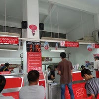 Photo taken at Samrong Tai Post Office by จิรชน ต. on 3/24/2014