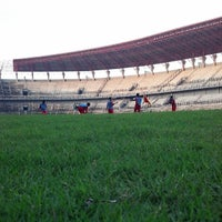Photo taken at Stadion Gelora Bung Tomo by Alfian Noor R. on 6/8/2013