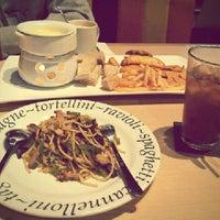 Photo taken at The Cafe' Cartel by Ratu Inge R. I. on 9/20/2013
