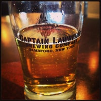 Photo taken at Captain Lawrence Brewing Company by Katie V. on 4/7/2013