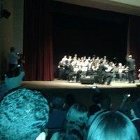 Photo taken at Teatro Municipal Severino Cabral by Fábio R. on 12/5/2012