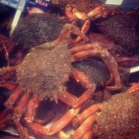 Photo taken at Mercado da Magdalena by Toni D. on 11/30/2012
