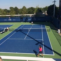 Photo taken at Practice Courts (1-5) - USTA Billie Jean King National Tennis Center by IrmaZandl T. on 8/28/2014