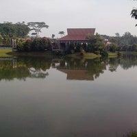 Photo taken at Danau Universitas Terbuka (UT) by Herri S. on 5/24/2014