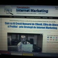 Photo taken at Internet Marketing Timisoara by Bogdan Gabriel I. on 6/20/2013