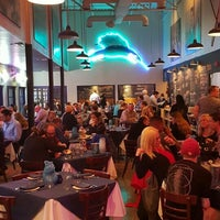Photo taken at Amberjax Fish Market Grille at Trinity Groves by Kevin M. on 3/19/2016