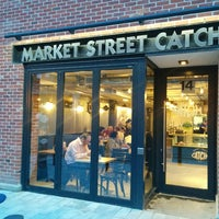 Photo taken at Market Street Catch by Darcy on 4/17/2014