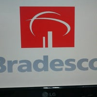 Photo taken at Bradesco by André G. on 10/23/2012