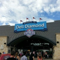 Photo taken at Dell Diamond by Colleen S. on 5/4/2013