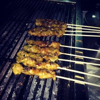 Photo taken at Kiosk Satay Grill @ Auliah Bistro by Aqil A. on 7/20/2013