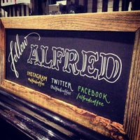 Photo taken at Alfred Coffee & Kitchen by Joshua Z. on 2/13/2013