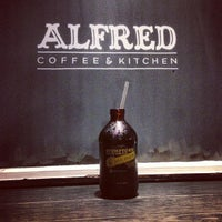 Photo taken at Alfred Coffee & Kitchen by Joshua Z. on 1/25/2013