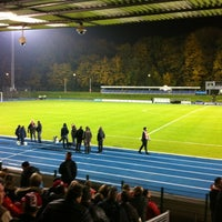 Photo taken at Stade Fallonstadion by Cindy on 11/11/2012
